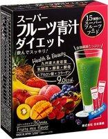 """Витаминно-минеральные комплексы Nihon-yakken напиток """"Аодзиру"""" 15 фруктов+коллаген"""