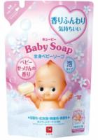 COW Мыло-пенка для детей 2 в 1 0+ мягкая упаковка 350мл.