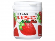 Резинка жевательная в банке Marukawa Strawberry Bottle