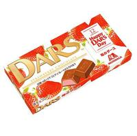 Dars Шоколад молочный со вкусом клубники