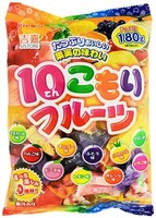 Леденцовая карамель 10 kinds Fruits Candy, ассорти, RIBON