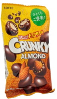 Lotte Crunky Миндаль в хрустящем шоколаде 45гр