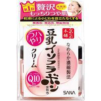 Увлажняющий крем с изофлавонами сои и капсулированным коэнзимом Q10, SOY MILK, Sana 50гр.