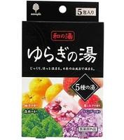 Соль для ванны Kiyou Jochugiku Горячие источники аромат в ассортименте