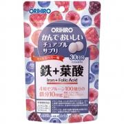 Витаминный комплекс с железом с ягодным вкусом, Iron Orihiro