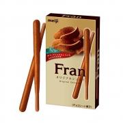 Meiji Fran Бисквитные хрустящие палочки в шоколаде
